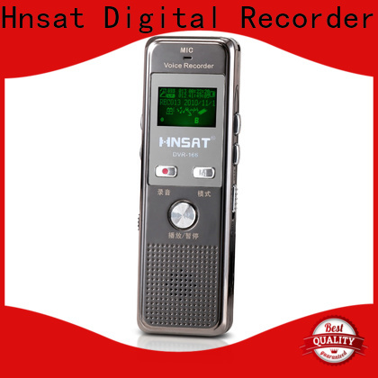 Hnsat Custom digital voice recorder machine for business for record