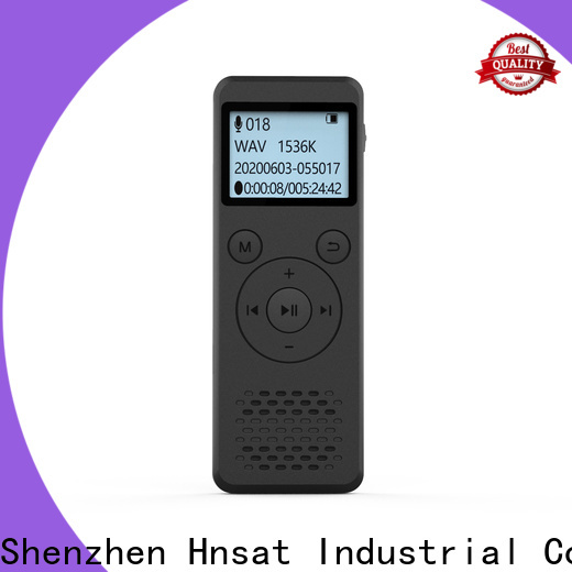 Hnsat Latest digital mp3 voice recorder Supply for record