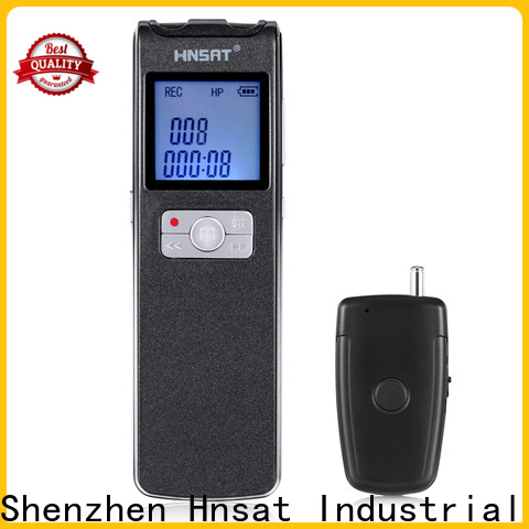 Hnsat mp3 voice recorder company for record