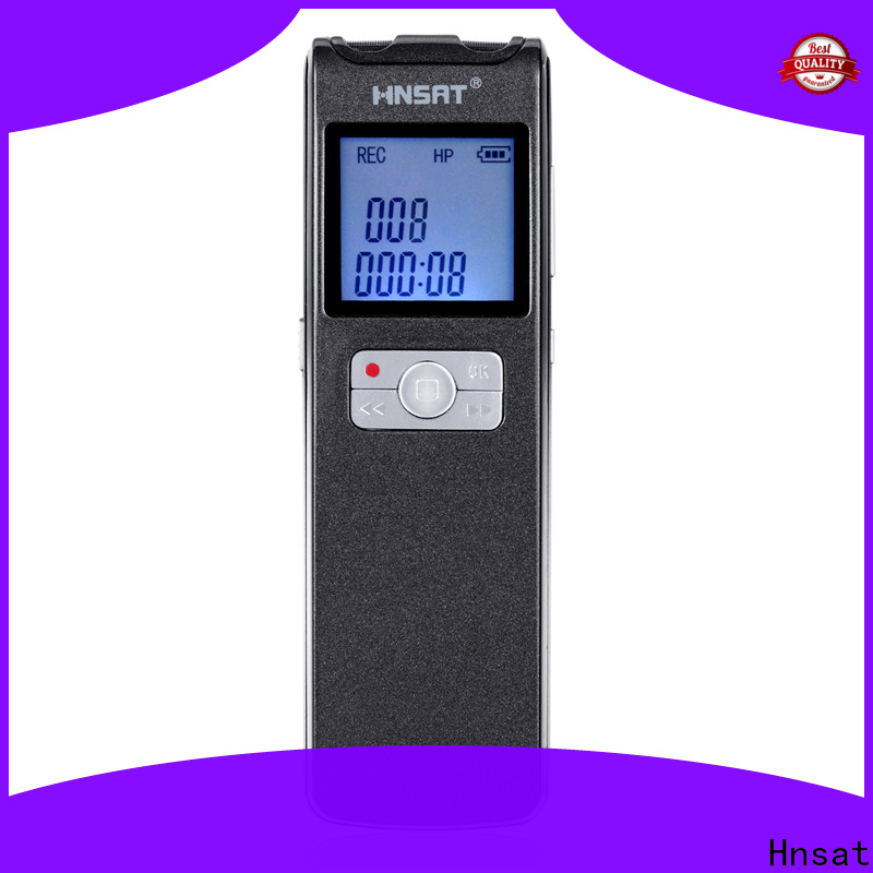 Hnsat professional digital sound recorder Suppliers for record