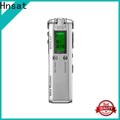Hnsat New mp3 recorder company for voice recording