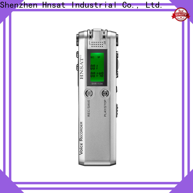 Hnsat professional voice recorder factory for record