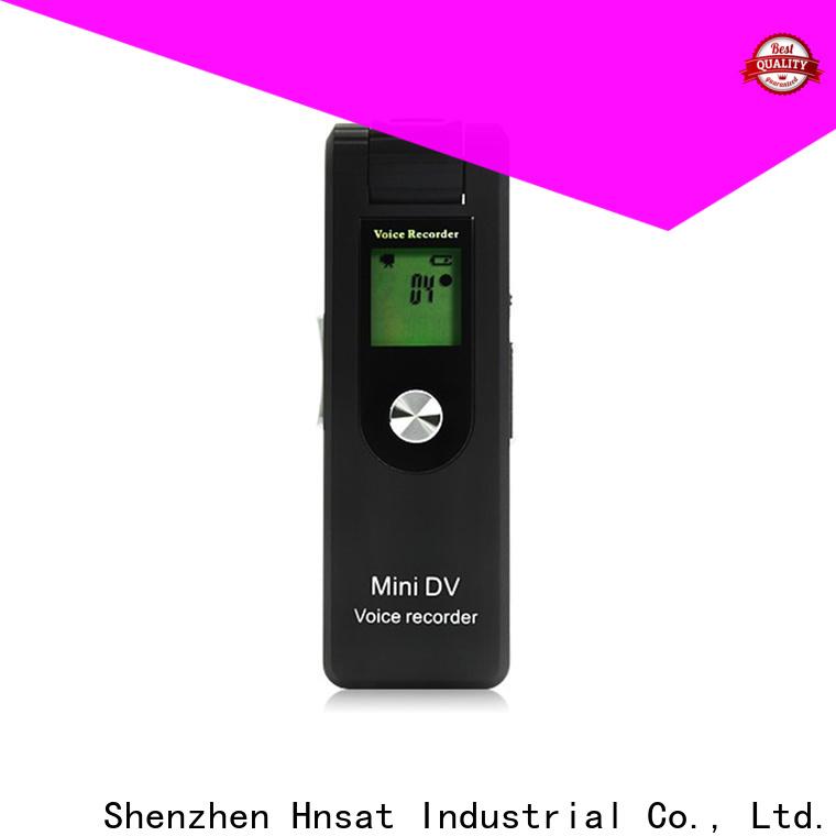 Hnsat Latest mini spy recorder company For recording video and sound