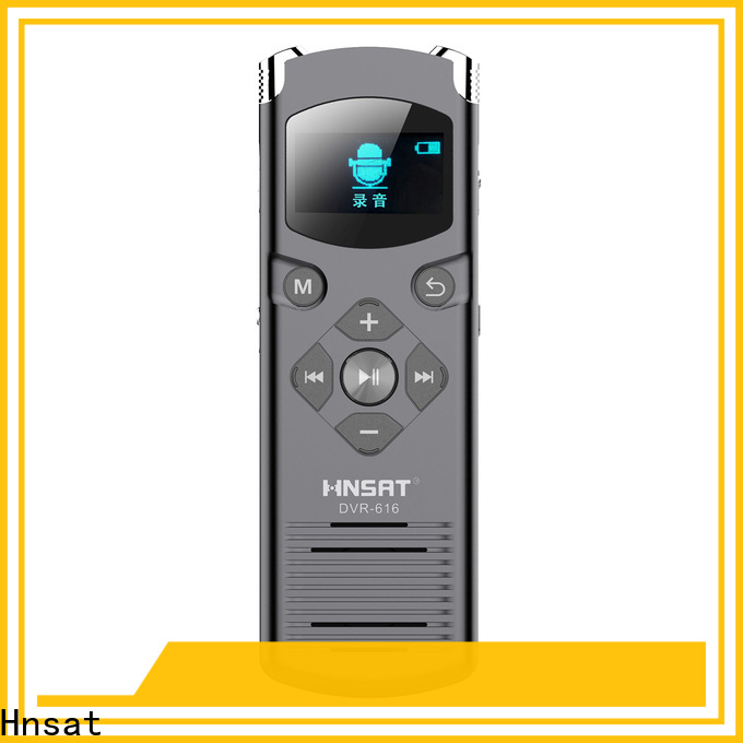 Hnsat Custom best professional digital sound recorder factory for taking notes
