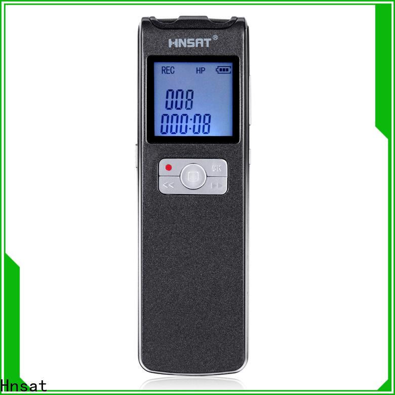Hnsat Custom ODM voice recorder price company for voice recording