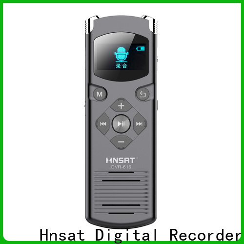 Hnsat latest digital voice recorder manufacturers for record