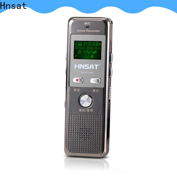 Hnsat Bulk buy custom digital voice recorder machine manufacturers for record