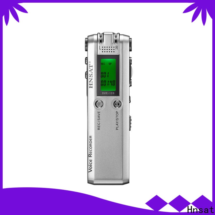 Hnsat Wholesale best best professional voice recorder company for record