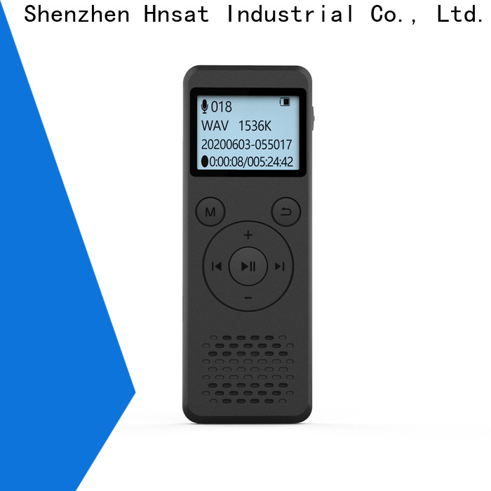 Hnsat Custom best voice recorder price manufacturers for voice recording