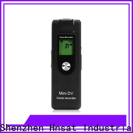 Hnsat Custom best spy camera audio video recorder Supply For recording video