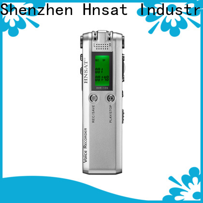 Hnsat Bulk purchase high quality voice recorder device factory for record