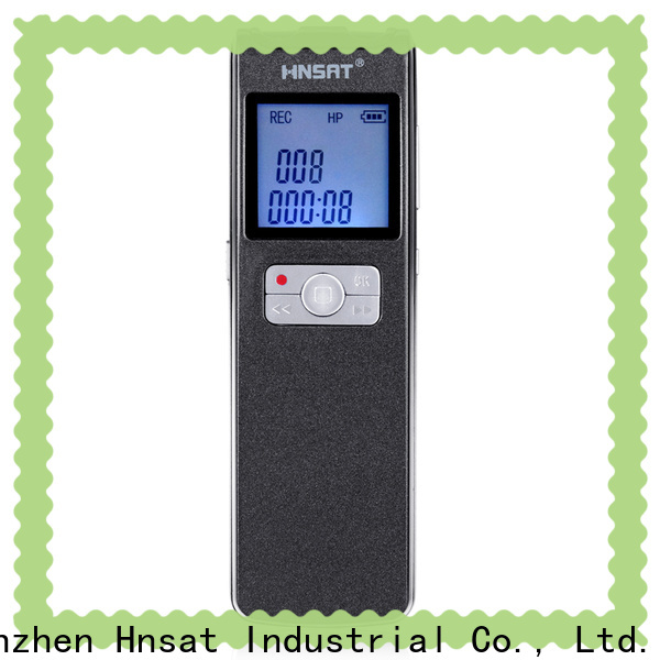 Hnsat digital voice audio recorder company for taking notes