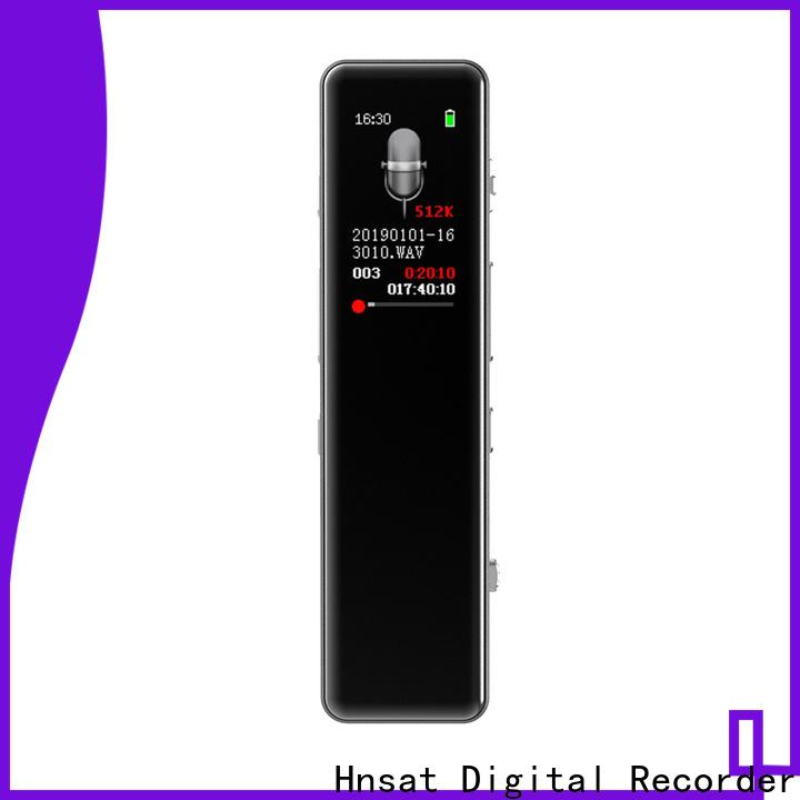 Hnsat Best digital voice recorder machine Supply for voice recording