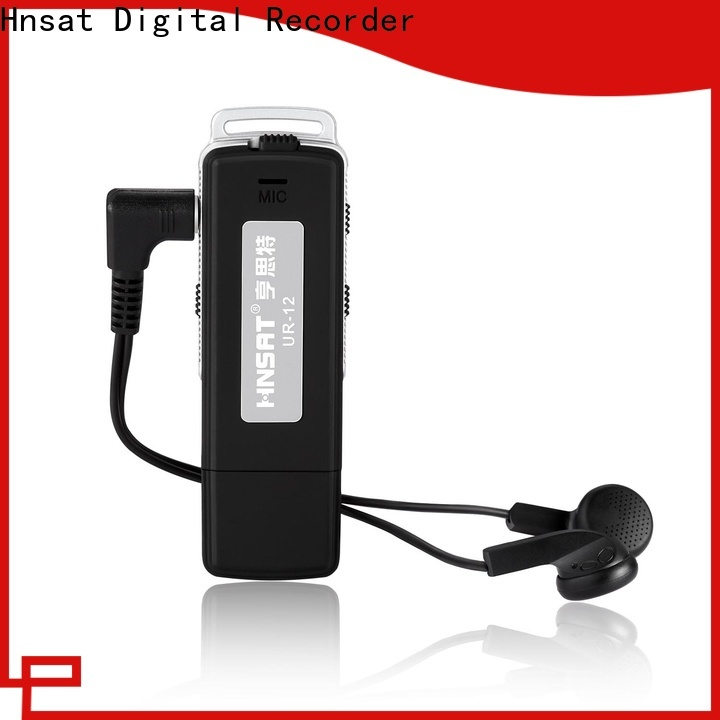 Hnsat best spy voice recorder device factory for taking notes