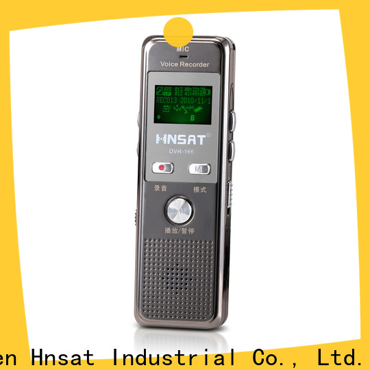 Hnsat professional digital sound recorder for business for voice recording