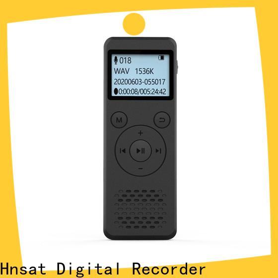 Hnsat OEM best digital recorder professional for business for voice recording