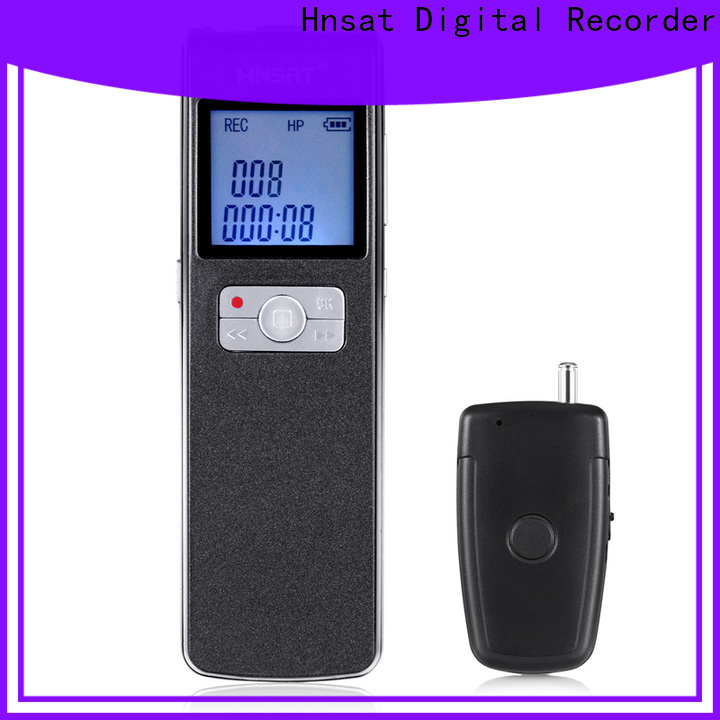 Hnsat best mp3 voice recorder manufacturers for taking notes