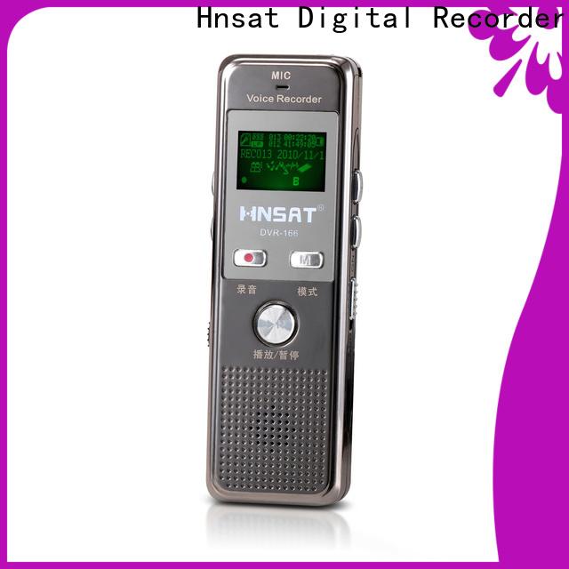 Hnsat Custom best digital voice recorder machine for business for voice recording