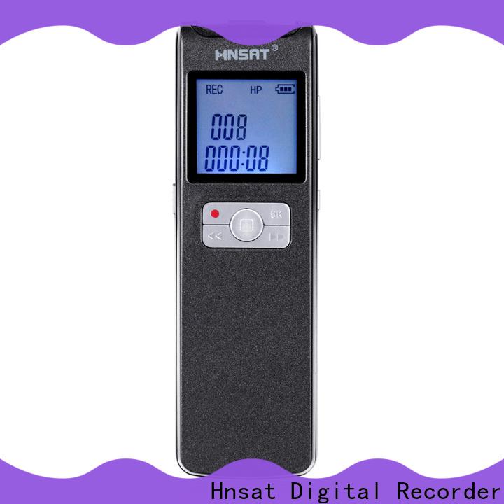 Hnsat mp3 recorder company for record