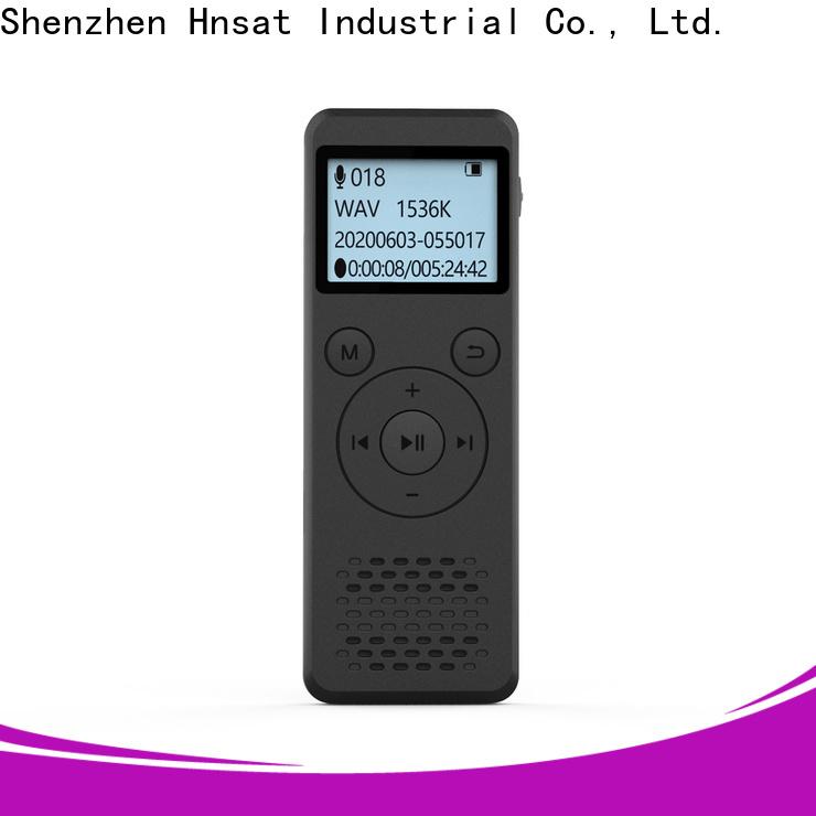 Hnsat digital voice audio recorder Suppliers for voice recording