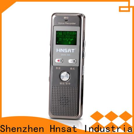 Hnsat Custom ODM digital recorder manufacturers for voice recording