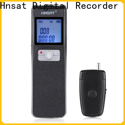 Hnsat portable voice recorder device for business for voice recording