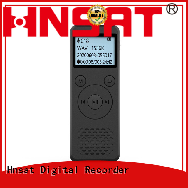 Hnsat Top professional digital sound recorder manufacturers for voice recording