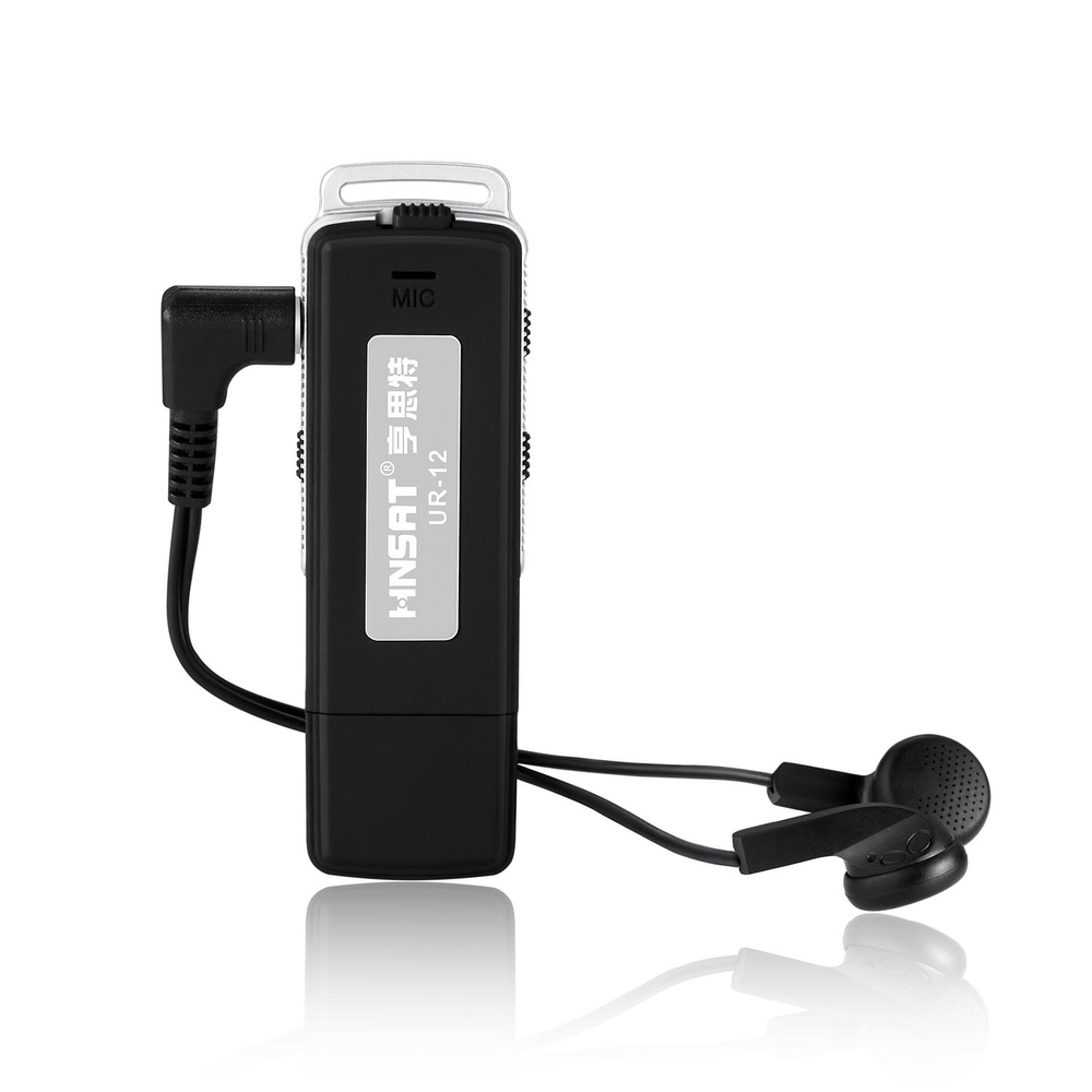 UR-12 hidden Voice Recorder audio recorder