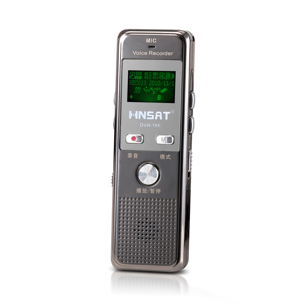 DVR-166 top digital  Voice Recorder