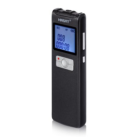 product-DVR-308 digital voice audio recorder-Hnsat-img-1