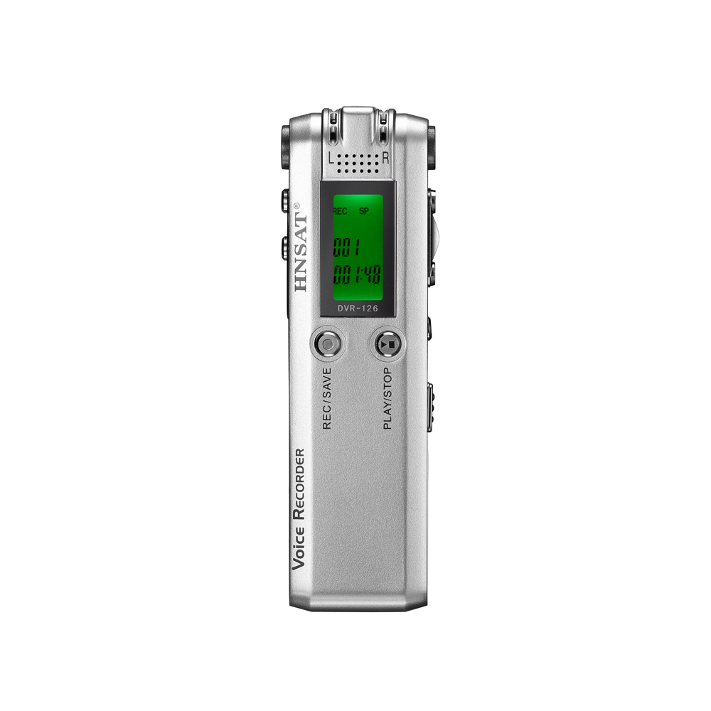 DVR-126 Portable Voice Recorder