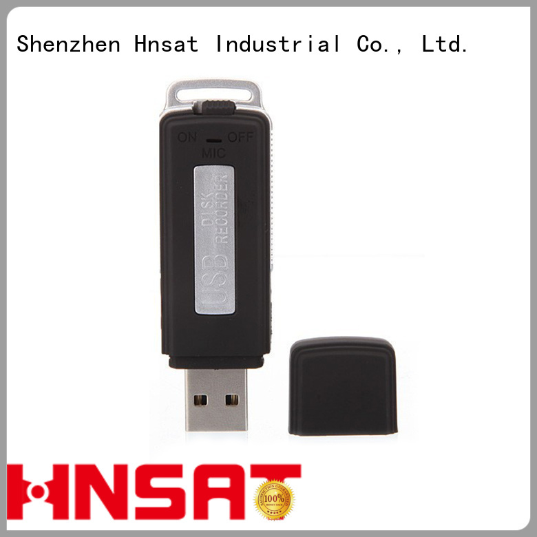 Hnsat small spy audio recorder manufacturers for voice recording