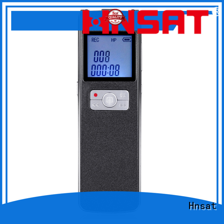 Hnsat latest digital voice recorder factory for record