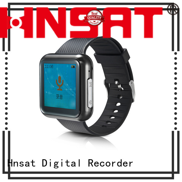 Hnsat High-quality wearable audio recorder for business for record